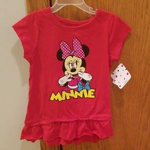 🔥SALE! Disney Junior Minnie Top